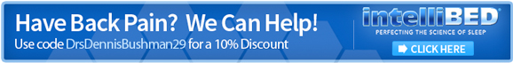 intelliBED coupon banner